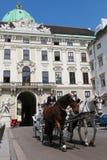 Vienna, Hofburg Stock Image