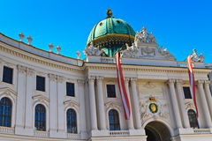 Vienna Hofburg Imperial Palace Entrance Stock Photography