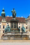 Vienna Hofburg Imperial Palace Inner Courtyard Royalty Free Stock Image