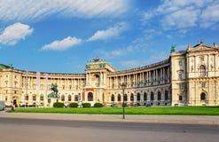 Vienna Hofburg palace stock photo