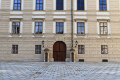 Vienna Hofburg Palace, Entrance Door Inner Square Stock Photo