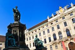 Vienna Hofburg Palace - Inner Square Stock Photo
