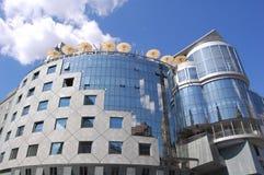 Vienna hotel. Steel and glass building in Vienna, Austria Stock Photos