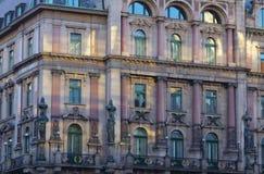 Vienna house facade Stock Photography