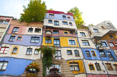Vienna Hundertwasse Immagine Stock Libera da Diritti