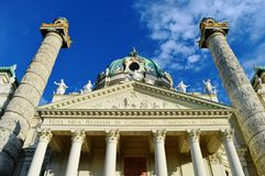 Vienna. An important building in Vienna Royalty Free Stock Image