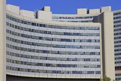 Vienna International Center,. Exterritorial area hosting the United Nations in Vienna, Austria Stock Images