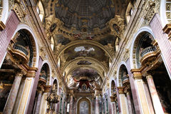 Vienna - Jesuits Church Stock Image
