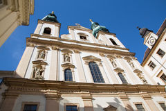 Vienna - jesuits church Royalty Free Stock Image