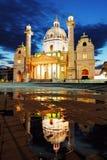 Vienna Karlskirche, Austria Stock Image