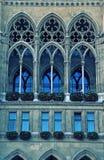 vienna katedralny okno Zdjęcie Royalty Free