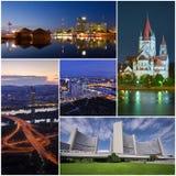Vienna landmark collage Stock Images