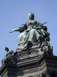 Vienna - landmark of Maria Theresia Stock Photography
