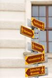 Vienna landmarks Royalty Free Stock Photos