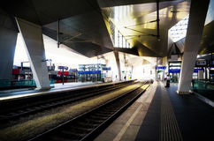 Vienna main train station Hauptbahnhof Royalty Free Stock Photo