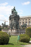 Vienna. Maria Theresa monument Stock Photos