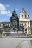 Vienna. Maria Theresa monument Stock Photography