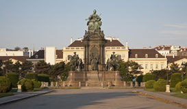 Vienna - Maria Theresia memorial Stock Images