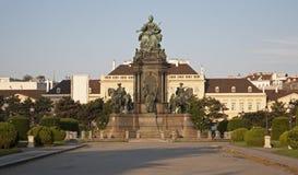 Vienna - Maria Theresia memorial stock images