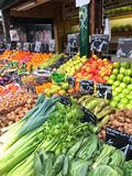 Vienna market Royalty Free Stock Images