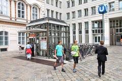 Vienna metro Royalty Free Stock Photography