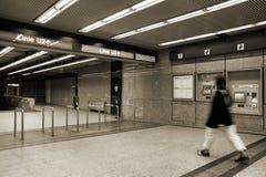 Vienna metro Royalty Free Stock Photos