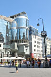 Vienna. Modern architecture Royalty Free Stock Image
