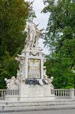 Vienna. Mozart Monument Royalty Free Stock Photography