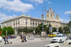 vienna Museum av Art History royaltyfri bild
