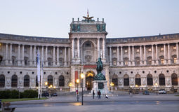 Vienna - narional library Royalty Free Stock Image