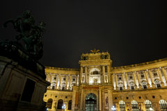 Vienna National Libary Stock Photo
