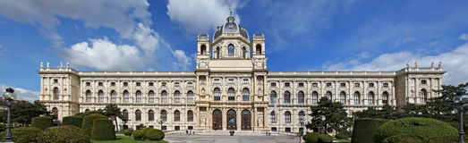 Vienna natural history museum building Royalty Free Stock Photography