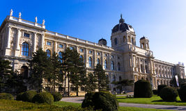 Vienna. Natural History Museum,Naturhistorisches Museum Wien Royalty Free Stock Photography