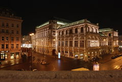 Vienna_night Stock Photography