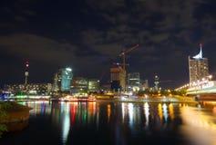 Vienna at night Stock Photo