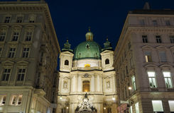 Vienna by night Stock Photography