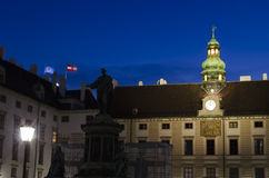 Vienna by night Royalty Free Stock Images