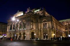 Vienna by Night , Opera Royalty Free Stock Image