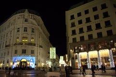 Vienna night sight Royalty Free Stock Photography