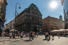 Vienna old city centre Royalty Free Stock Photos