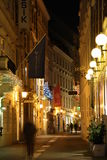 Vienna old town at night Stock Photo