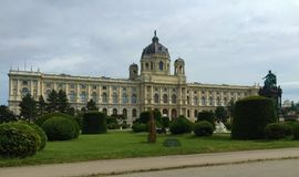 Vienna - one of the Europe`s most visited cities - The Maria Theresa Monument. Capital of the Republic of Austria and one of Europe`s most visited cities, Vienna royalty free stock photos