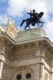Vienna Opera house fountain statues Austria Europe Royalty Free Stock Photography