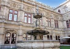 The Vienna Opera house in Vienna, Austria Stock Photo