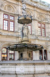 The Vienna Opera house in Vienna, Austria Stock Photos