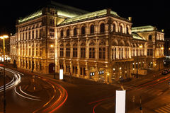 Vienna Opera house in Vienna, Austria Stock Photography