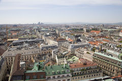 Vienna - outlook from st. Stephen cathedral Royalty Free Stock Image