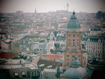 Vienna overview Royalty Free Stock Image