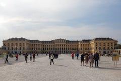 vienna Palazzo di Schonbrunn immagine stock