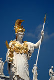 Vienna - Pallas Athene Statue Royalty Free Stock Photos